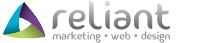 RELIANT - Over 20 years of web design, marketing and media experience